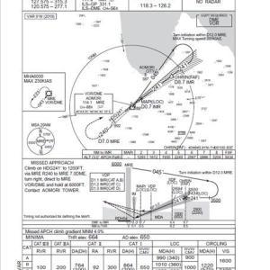 青森空港の着陸ルートvol2