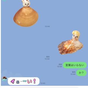 「貝殻こけしのささやき」LINEスタンプ販売が開始されました!