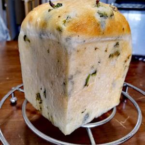手作り♡ブロッコリー食パン♡