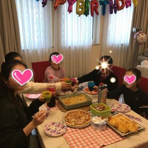 長女 11歳♪お誕生日パーティー♪