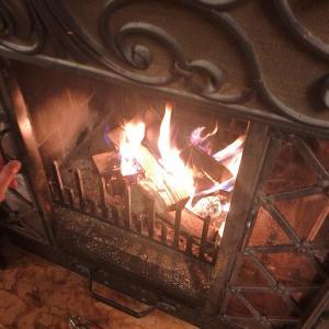 暖炉は男のロマン!?