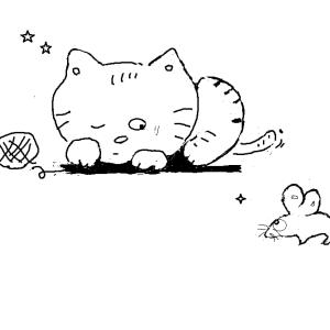 やっぱり猫には鈴は