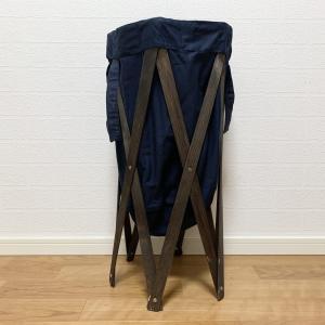 天然木フレームのおしゃれゴミ箱!ランドリーハンパーアンテをキャンプで使って感じた5つの特徴と注意点