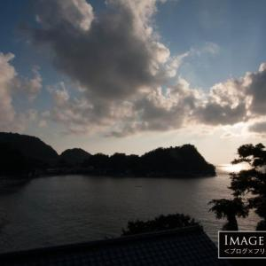 日本的な風景も魅力の岩地海岸