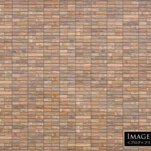 レンガタイルの壁のフリー写真素材