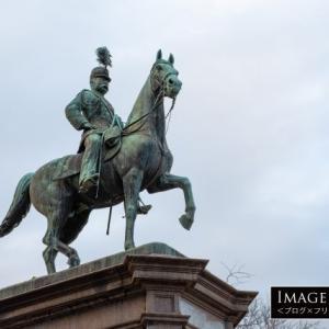 「小松宮彰仁親王像」上野恩賜公園にある勇ましい姿の銅像