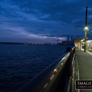 「海芝浦駅」ホームの下がすぐ海!最も海いに近い駅