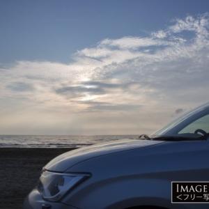 レンタカーでも砂浜走りが楽しめる千里浜ドライブウェイ
