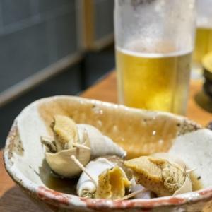 コリコリとした食感が美味しい「バイ貝の煮物」