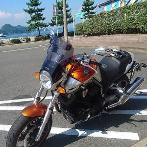 ヤマハ BT1100 BULLDOG 味のあるバイクでした