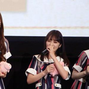 乃木坂46 梅澤美波のスタイルに公開処刑される与田祐希『劇場版 七つの大罪』完成披露上映会