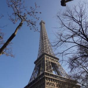 初めての フランス旅行 France 番外編 4 パリ エッフェル塔