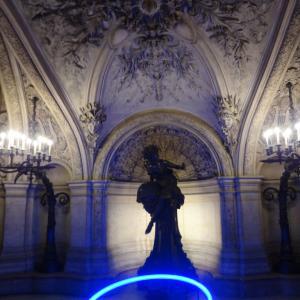 初めての フランス旅行 France 番外編6 パリ オペラ座 内部