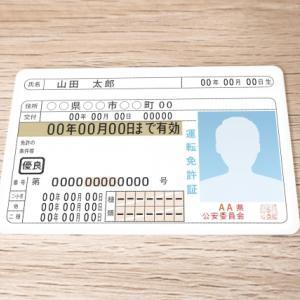 運転免許証の更新をしてきました