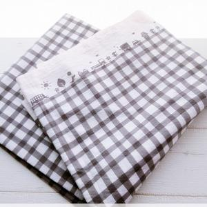 【布で手作り】コンビニ用エコバッグ弁当型を試作。
