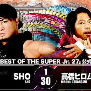 【新日本プロレス】12.2大阪大会 『SUPER Jr.』天王山決戦!