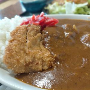いそしぎ の定食とカツカレー(辛口)