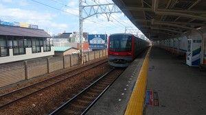 日比谷線直通用車両70000系@東武鉄道