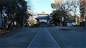 舎人氷川神社@東京都足立区/見沼代親水公園駅