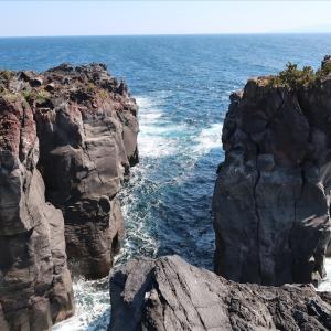 【国立公園巡り】圧巻のごつごつ溶岩「城ヶ崎海岸」の絶景とすぐ近くの絶品ご飯スポットについて紹介!