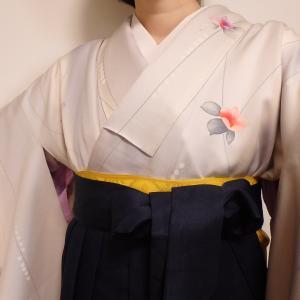初めて袴を着てみた!!