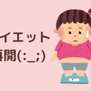 【雑談】社会復帰1日目とダイエット宣誓【太ったよ】