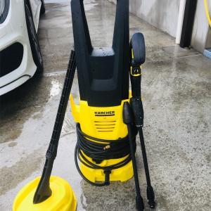 【モノシリーズ】最大出力ドヒャー!高圧洗浄機ケルヒャーK2