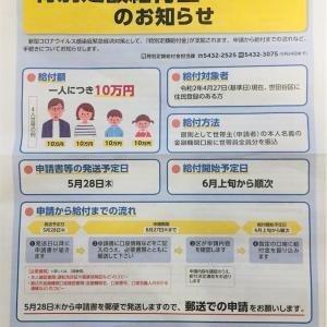 【診断士・世田谷シリーズ】特別定額給付金10万円で経済回そう