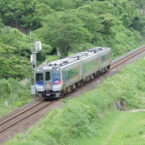 2020.6/17 とりてつ(高徳線 オレンジタウンー造田)~緑の中を快走する列車~