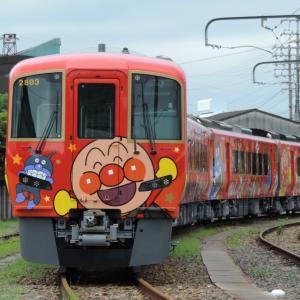 2020.7/11 とりてつ(JR四国 多度津工場)~新型アンパンマン列車の並び~