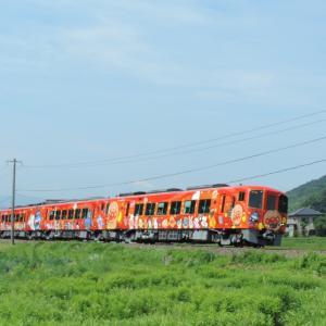 2020.7/19 とりてつ(土讃線 琴平ー塩入)~笑顔の赤色アンパンマン列車~