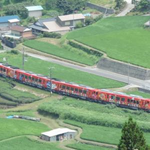 2020.7/19 とりてつ(土讃線 豊永ー大田口)~新型アンパンマン列車 緑の中の俯瞰撮影~