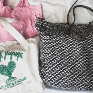陣痛バッグと入院バッグ中身公開⇨実際に必要だったものは?!【ミニマリスト】【海外出産】