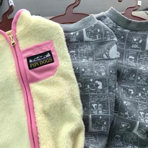 スヌーピーの犬服がペットのコジマで3枚2000円!!