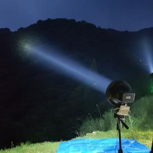 ライトトラップ・12-標高550m