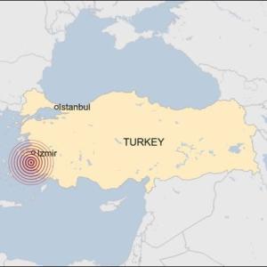 イズミールで地震