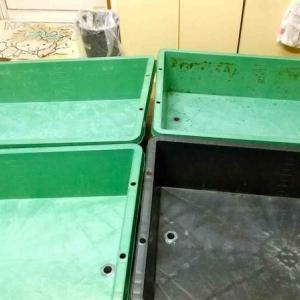 トロ舟の排水加工2