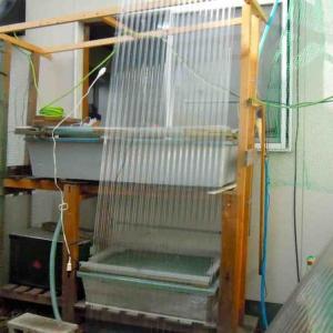 トロ舟の排水加工4