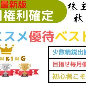【お金返して!】10月権利確定株主優待ランキングベスト5