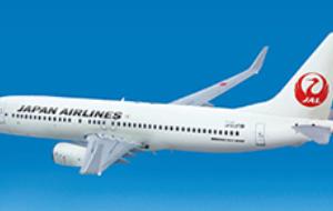 【JAL】国内線飛行距離一覧