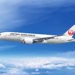 【JAL】国際線飛行距離一覧