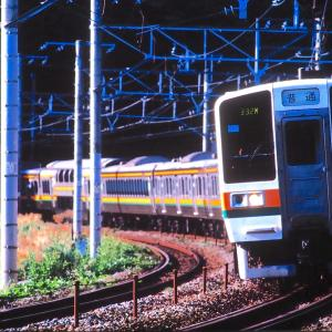 東海道本線、ブルートレイン撮影の合い間に