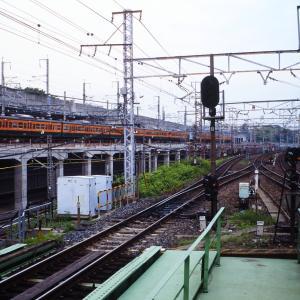 赤羽駅、高架化工事真っ最中のころ(1)