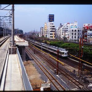 赤羽駅、高架化工事真っ最中のころ(3)