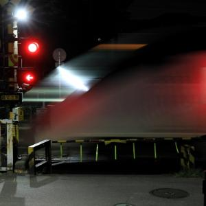 18:35幽霊列車のお通り・・・