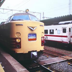 1994年7月賑やかなりし盛岡駅在来線ホーム