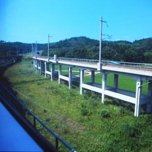 1994年7月津軽海峡線「はつかり」の車窓から。そして函館へ!