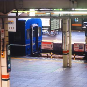 寝台急行銀河、機回し待ちのひととき(20年前の東京駅にて)