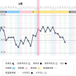 【D25】基礎体温がわからなくなってきたー( ;∀;)