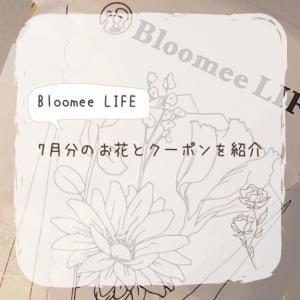Bloomee LIFEから届いた7月分のお花とクーポンを紹介